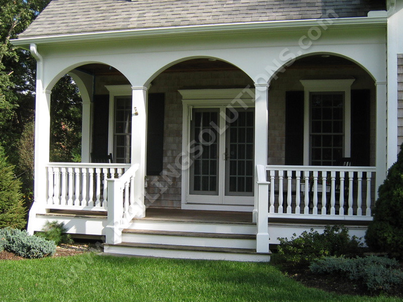 Premium railing and baluster systems for deck porch and Front porch ideas